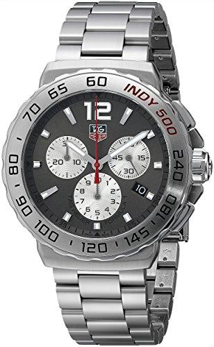 TAG Heuer Herren-Armbanduhr Chronograph Quarz Edelstahl CAU1113.BA0858