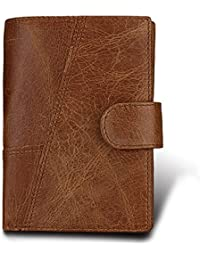 Amazon wallets card cases money organizers hibate men leather wallet rfid blocking mens wallets credit card holder coin pocket purse reheart Images