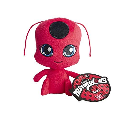 Bandai 39831 Miraculous Marienkäfer Tikki, Plüsch-Spielzeug, 15cm, Rot und ()