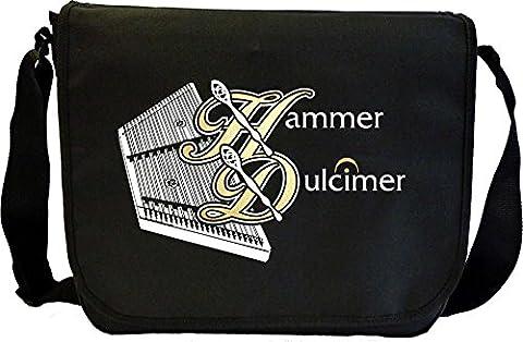 Dulcimer Hammered Hammer - Sheet Music Document Bag Sacoche de Musique MusicaliTee