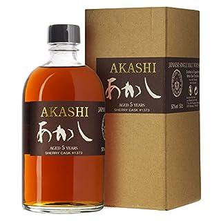 Akashi White Oak 5 Jahre Sherry Cask #1373 50% 0,5l japanischer Single Malt Whisky