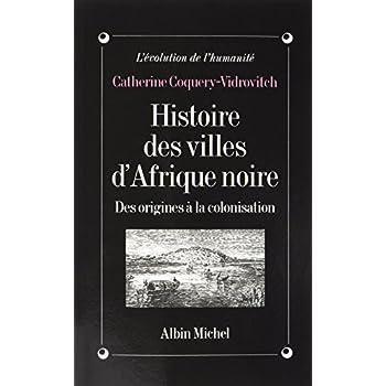 Histoire des villes d'Afrique Noire: Des origines à la colonisation