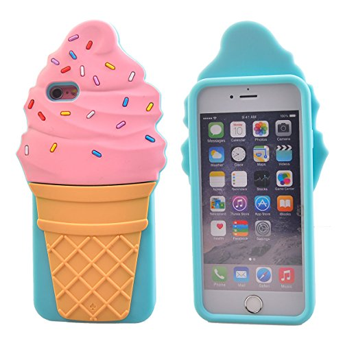 "COOLKE Mode 3D Style Cartoon Gel Soft silicone Coque Housse étui Case Cover Pour Apple iPhone 6 6s (4.7"") - 020 019"