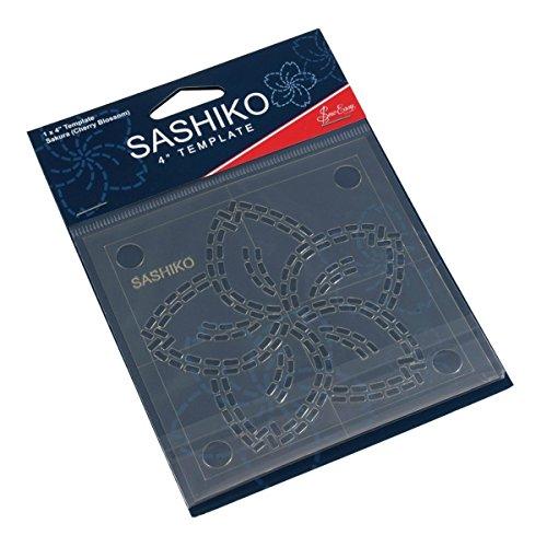Sashiko-designs (Sew Easy Sashiko Stickvorlage 4 x 4in Sakura (Kirschblüte))
