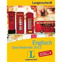 Langenscheidt Sprachkalender 2013 Englisch - Abreißkalender