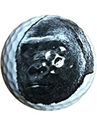 Gorilla Face novedad pelota de Golf