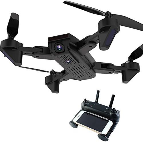 ZZH Drone Premium 4CH 2,4 2,4 2,4 GHz Vitesse Réglable WiFi FPV Drones en Temps Réel  s Adultes Débutants-Noir | Stocker  43df42