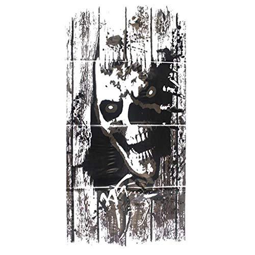 Schrank Hexe Kostüm - TIREOW_Halloween Black Ghost Shantou Abnehmbare Wandaufkleber Kunst DIY Aufkleber Fenster Schrank Glastür Dekor Wandbild Wandkunst für Schlafzimmer Badezimmer