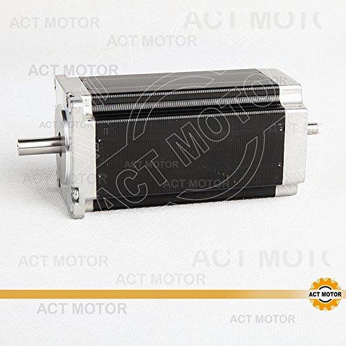 ACT Motor GmbH 1 Stück Nema23 Stepper Motor 23HS2442B Schrittmotor 4.2A 112mm 2.8N.m CNC hohes Haltemoment Automatisierung Test