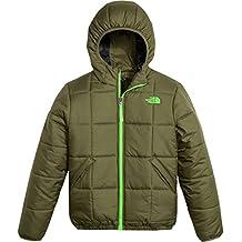 The North Face chaqueta reversible de perrito para niños