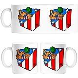 Taza Atlético de Madrid Isidrín