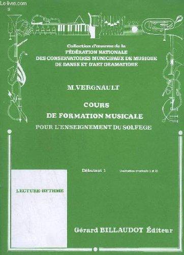 COURS DE FORMATION MUSICALE POUR L'ENSEIGNEMEN...