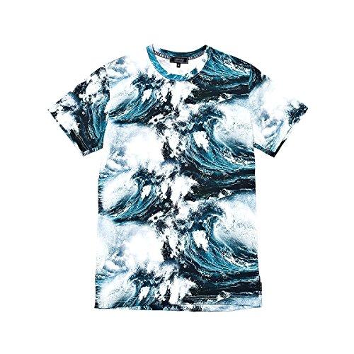 T-shirt uomo IUTER fullprint tee wave TG. M
