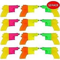 4 x Wasser Pistole Wasserpistole bunt 11cm Kinder Geburtstag Giveaway Spielzeug Business & Industrie Spielzeug