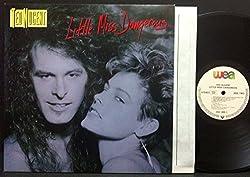 LITTLE MISS DANGEROUS LP (VINYL ALBUM) GERMAN WEA 1986