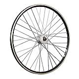 Taylor-Wheels 28 Zoll Vorderrad ZAC2000 Shimano DH-C3000-3N Vollachse - Schwarz