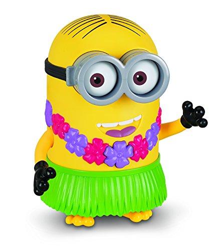 (MTW Toys 20427 - Sprechende Aktionsfigur Minion Hula Dave, ca. 19 cm)
