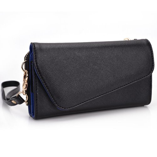 kroo-clutch-wallet-with-wristlet-and-crossbody-strap-for-5-smartphone-dark-blue