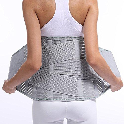 Rückenstütze Taille Gürtel Wirbelsäule Unterstützung Männer Frauen Gürtel Atmungsaktiv Lordosenstütze Orthopädische Rückenstütze Rücken Unterstützung Gürtel Männer