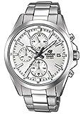 Edifice Herren Analog Quarz Uhr mit Edelstahl Armband EFV-560D-7AVUEF
