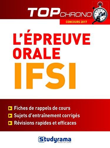 L'preuve orale IFSI