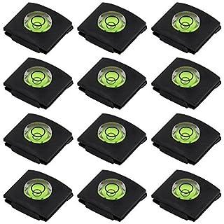 Senhai Set von 12 heißen Schuh-Abdeckungen, Kamera-Taschenlampe Hotshoe-Abdeckung von Bubble Wasserwaage für Canon Nikon Panasonic Fujifilm Olympus Sigma PENTAX DSLR SLR