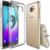 Funda Galaxy A5 2016, Ringke [FUSION] Crystal Clear Volver PC TPU de parachoques [Protección de Caídas / golpes tecnología de la absorción] [Se adjunta del casquillo del polvo] perfecta de la carcasa protectora de ajuste para Samsung Galaxy A5 2016 - Crystal View