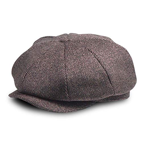 - Tweed Newsboy Hut