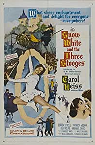 Snow White and the Three Stooges Movie Poster (68,58 x 101,60 cm)