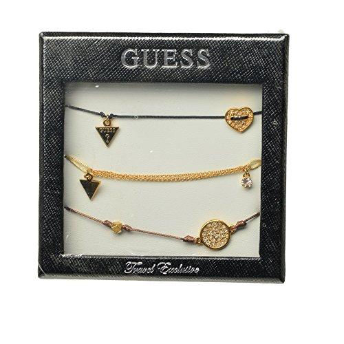Set di 3 braccialetti dell'amicizia da Guess