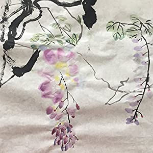 INKSTON Unvrarbeitetes Perfektes 80 Xuan Papier 34.5 * 138 cm 25 Blättern