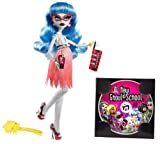 Mattel W2148 - Monster High Mitternachtsparty Ghoulia Yelps, Tochter der Zombies, Puppe