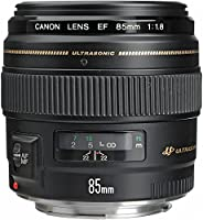 Canon EF 85mm f/1.8 USM Short-Telephoto Lens