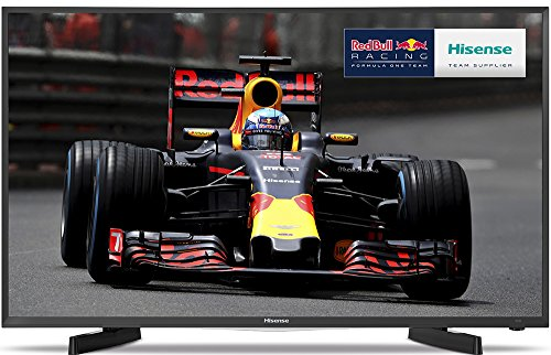 Hisense 49 inch Widescreen Smart LED TV - Black