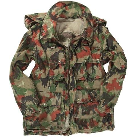 Swiss Army Issue alpenflage Mountain loadbearing Giacca Set, uomo, camouflage, M - Swiss Army Set
