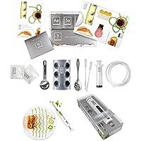 Kit básico completo de cocina molecular, set para principiantes y arte culinario, jeringa y