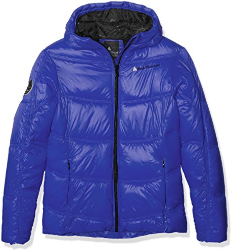 Peak Mountain Gansei Daunenjacke, Mädchen 14 Jahre Bleu Clematis - Ski-jacken 14 Mädchen-größe Für