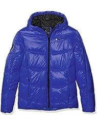 Peak Mountain Gansei - Abrigo de plumas para niña, color Bleu Clematis, tamaño 12 años