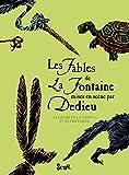 Les Fables de La Fontaine mises en scène par Dedieu. Le Lièvre et la Tortue et autres fables