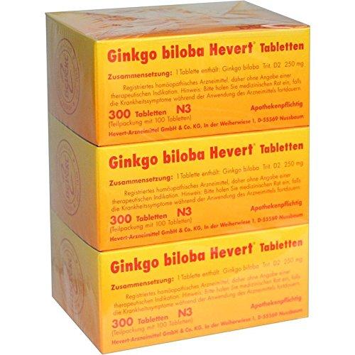 Ginkgo Biloba Hevert Tabletten, 300 St. Tabletten