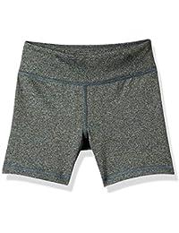Amazon Essentials - Pantalones cortos deportivos elásticos para niña
