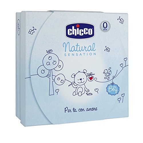 Chicco Olio Bagno e Crema Corpo Natural Sensation, Blu - 400 ml