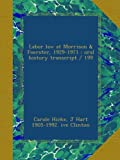 Labor law at Morrison & Foerster, 1929-1971 : oral history transcript / 199