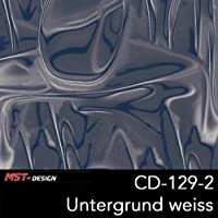 MST-Design Wassertransferdruck Folie I Starter Set Klein I WTD Folie + Dippdivator/Aktivator + Zubehör I 4 Meter mit 50 cm Breite I Alien Grau Blau I CD 129-2