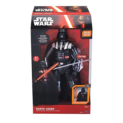 Star Wars Figura Interactiva Con Luz Y Sonido Darth Vader 43 Centímetros Edición Alemán