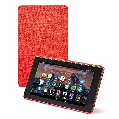 Amazon - Étui pour Fire 7 (tablette 7 pouces, 7ème génération - modèle 2017), Rouge de Amazon - Les accessoires high-tech