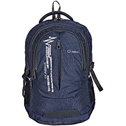 Aqua By Verage Lead 40 L Polyester Casual Backpack (Navy Blue)