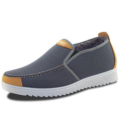 Feifei Chaussures pour Hommes Matériaux de Haute qualité Faible Aide Ensemble de Pieds Hiver Loisirs Garder au Chaud Respirant 3 Couleurs