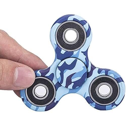 fidget spinner el nuevo juguete de moda Fidget Toy tipo Spinner para niños o adultos – Alta Velocidad Si3N4 Hybrid cerámica– Gira 2-3 minuto – Juego Sensorial Hand Spinner