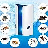 Mosquito Killer Lamp Conversion de fréquence à Onde électromagnétique Double Onde multifonctionnelle Anti-Moustique répulsif Anti-Parasite, fiche US (Taille : Prise EU)